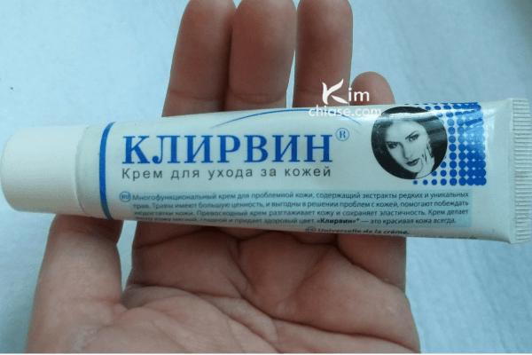 Kem trị sẹo Nga Klirvin